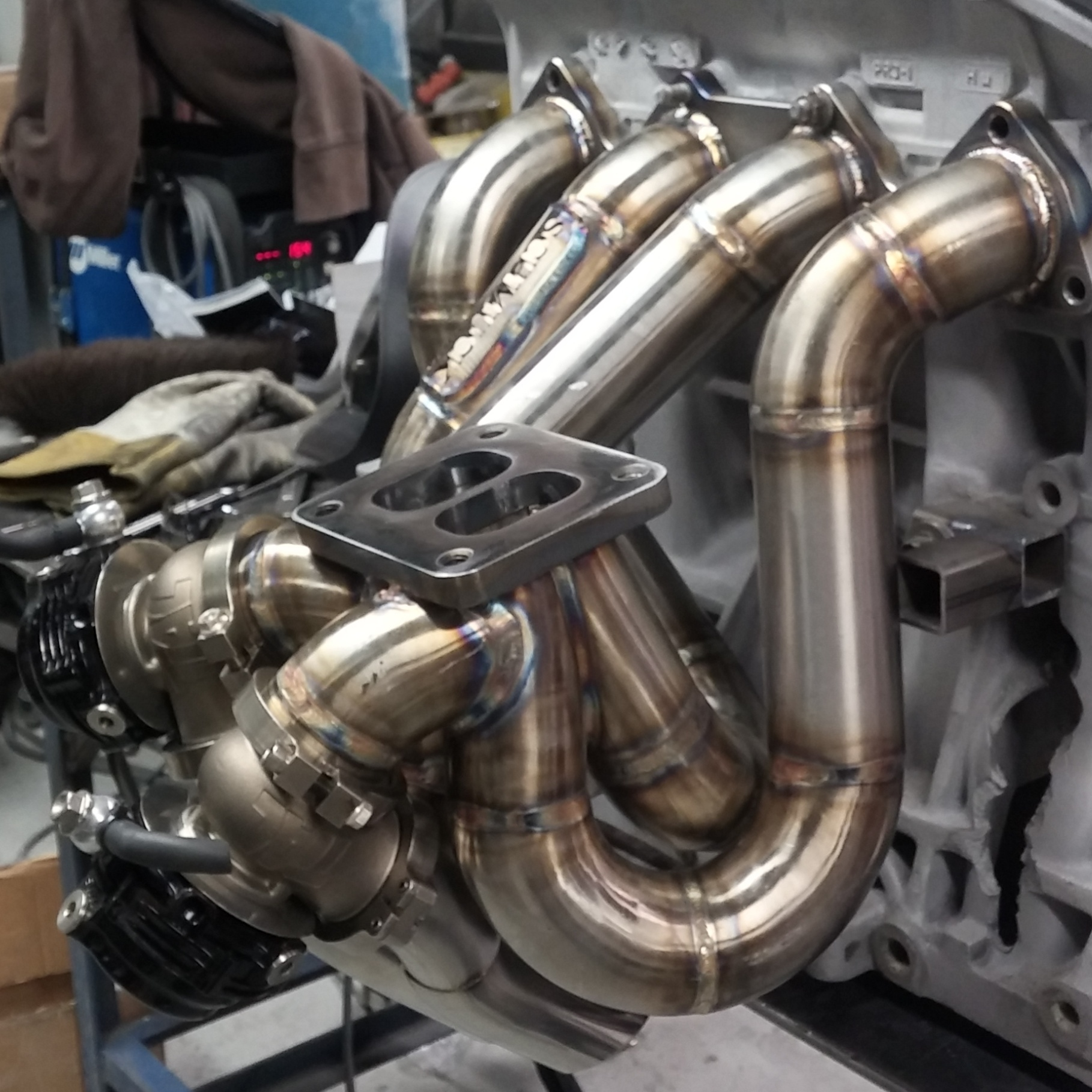 B Series Top Mount Manifold Schmuck Built Llc